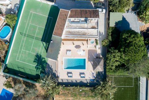 villa vista ibiza